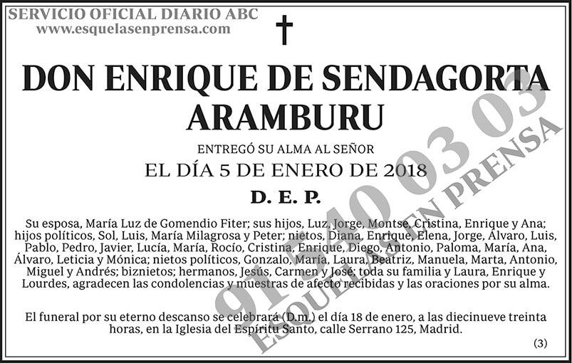 Enrique de Sendagorta Aramburu